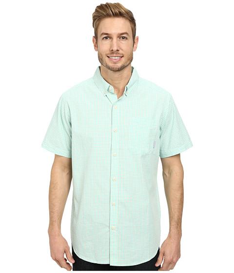 Columbia - Rapid Rivers II Short Sleeve Shirt (Gulf Stream Small Plaid) Men