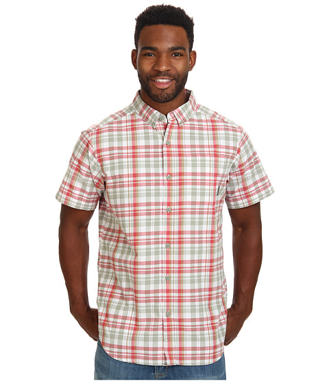 Columbia - Rapid Rivers II Short Sleeve Shirt (Sunset Red Plaid) Men
