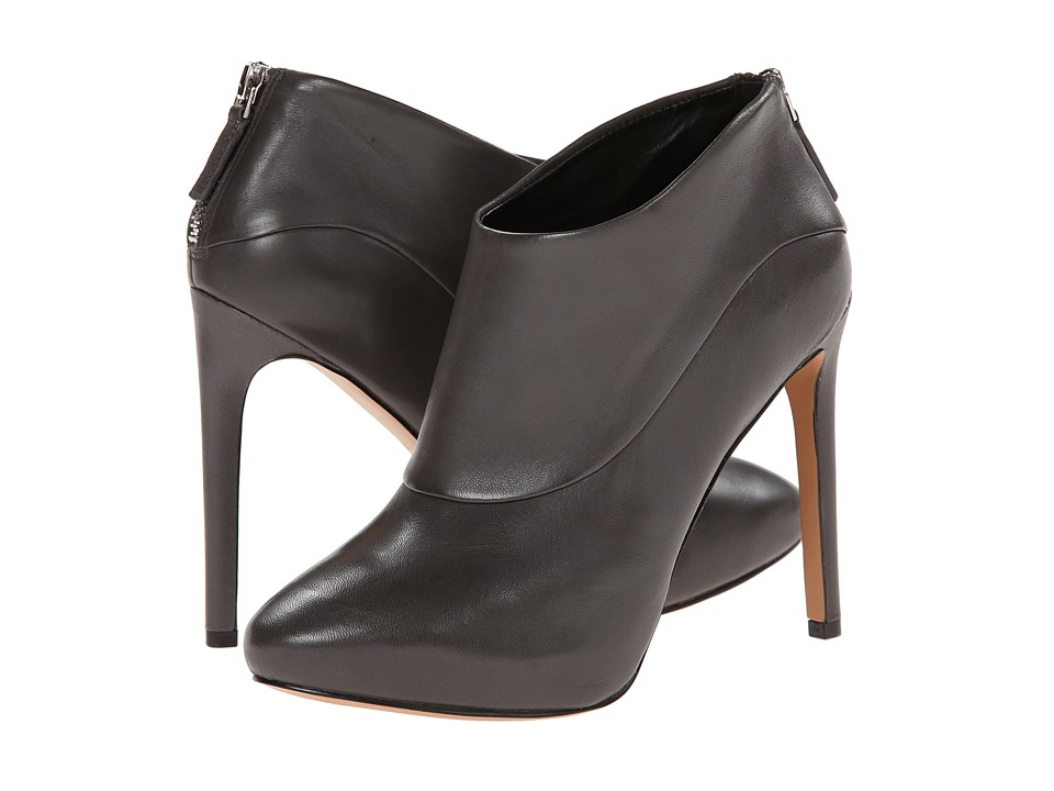 Nine West - Navajoe (Dark Grey Leather) Women's Dress Zip Boots