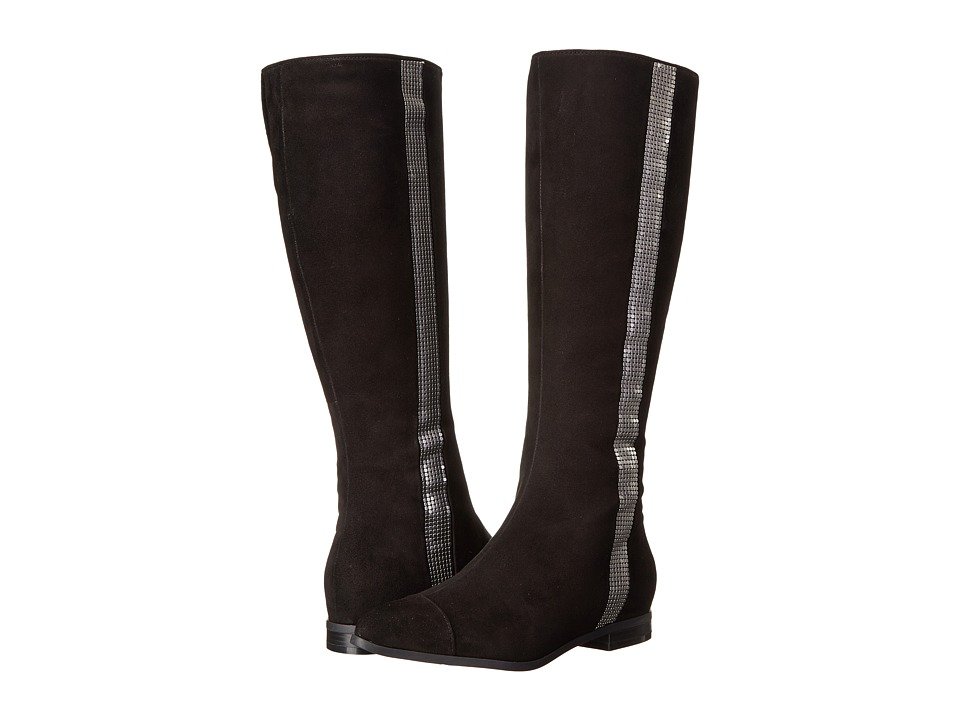 Nine West - Officier (Black Suede) Women's Boots