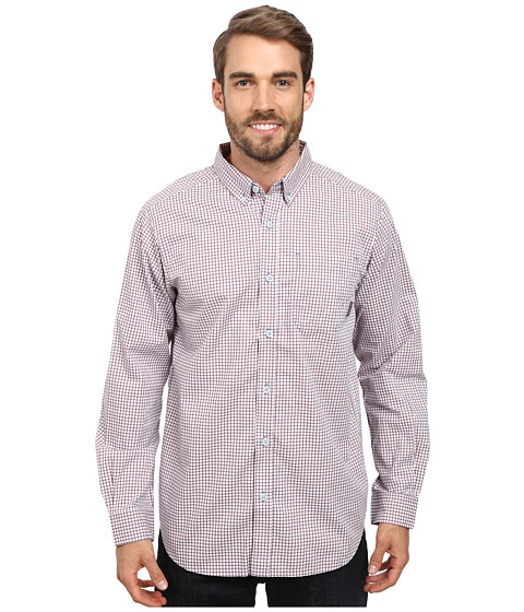 Columbia - Rapid Rivers II Long-Sleeve Shirt (Blue Heron Small Plaid) Men