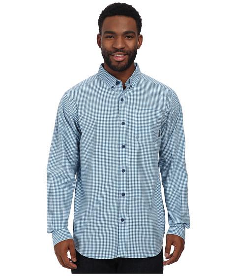 Columbia - Rapid Rivers II Long-Sleeve Shirt (Carbon Small Plaid) Men