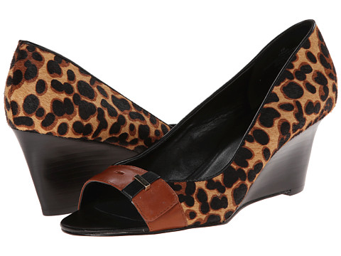 Nine West - Rajah (Natural Multi Pony) Women's Wedge Shoes
