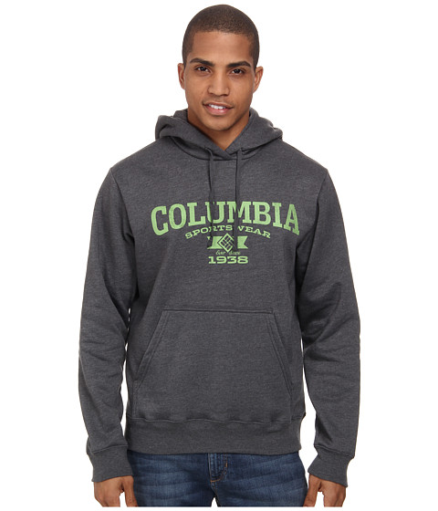 Columbia - Range Rise Hoodie (Charcoal Heather/Spring) Men's Sweatshirt