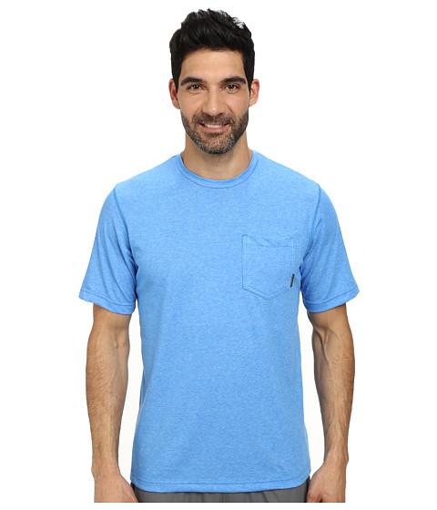 Columbia - Thistletown Park Pocket Tee (Hyper Blue Heather) Men's T Shirt
