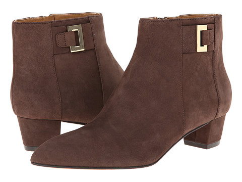Nine West - Twasthe (Dark Brown Nubuck) Women