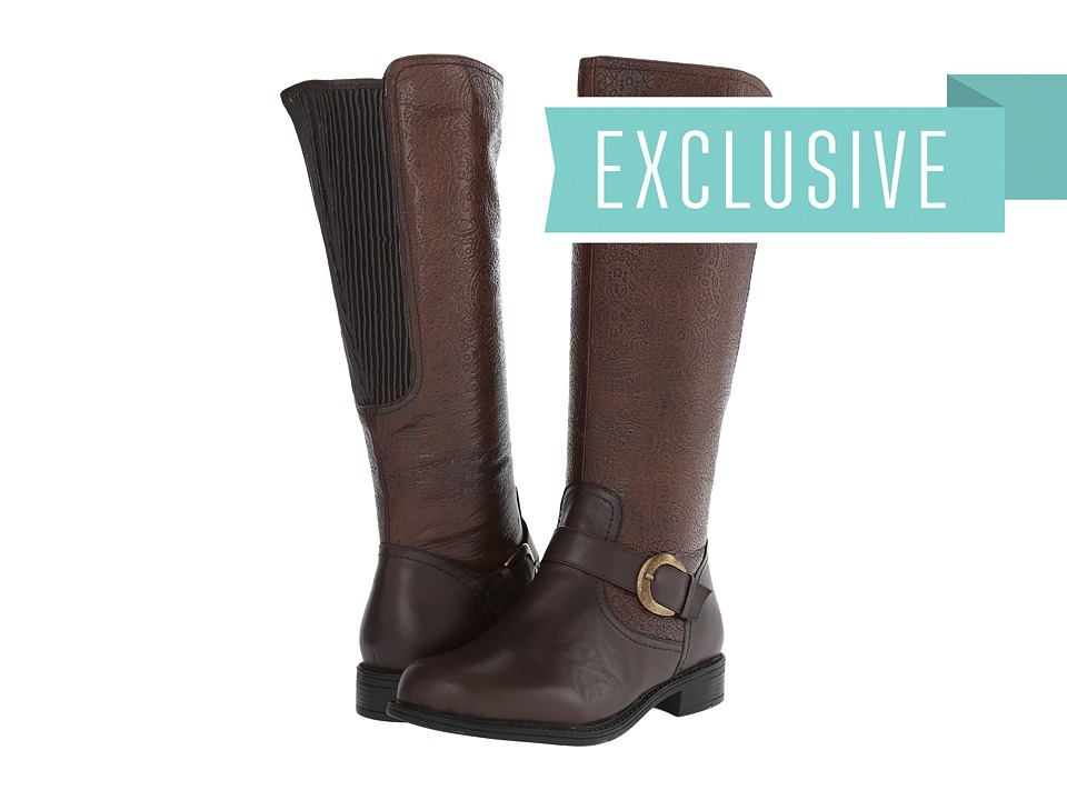 David Tate - Bolero (Brown) Women's Zip Boots