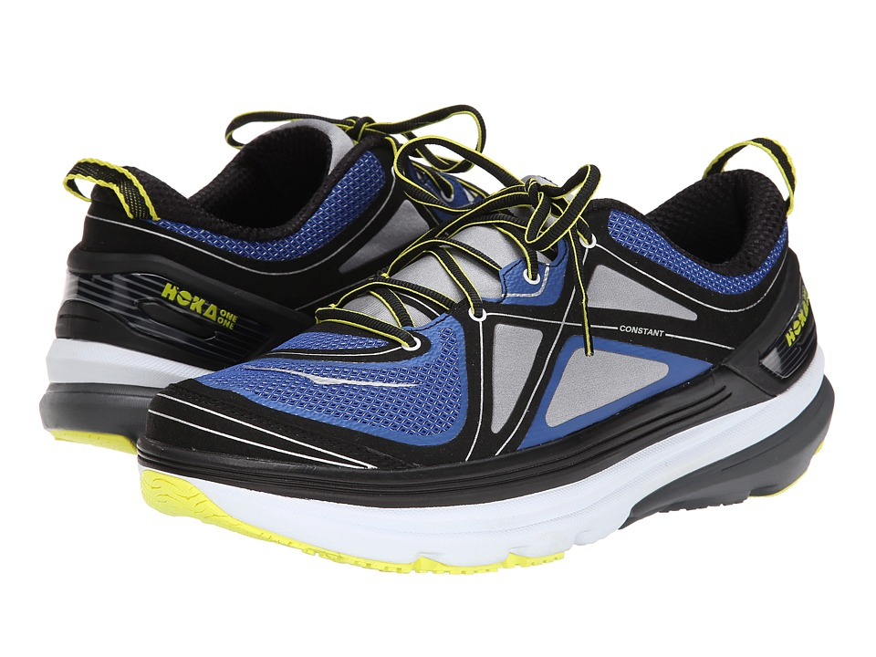 Hoka One One - Constant (True Blue/Grey/Citrus) Men's Running Shoes