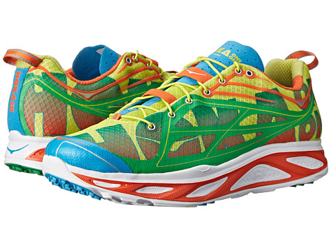 Hoka One One - Huaka (Orange/Green/Yellow) Men's Running Shoes
