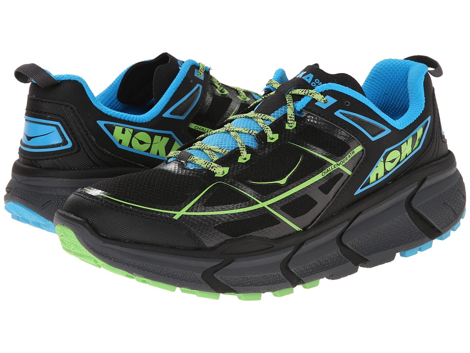 Hoka One One - Challenger ATR (Black/Cyan) Men's Running Shoes