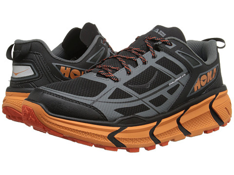 Hoka One One - Challenger ATR (Black/Burnt Orange) Men's Running Shoes