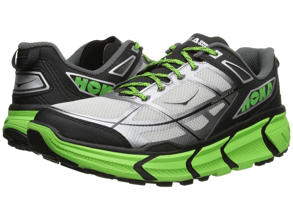 Hoka One One - Challenger ATR (Black/Green Flash) Men's Running Shoes