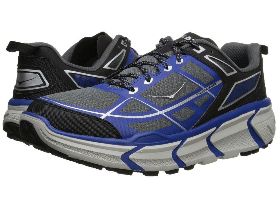 Hoka One One - Challenger ATR (Black/True Blue) Men's Running Shoes