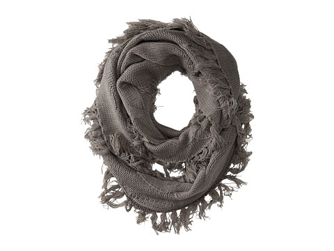 LAmade - Cable Knit Infinity Scarf (Chateau Grey) Scarves