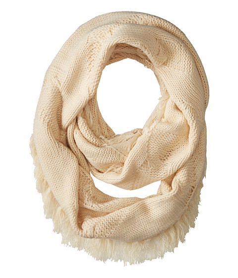 LAmade - Cable Knit Infinity Scarf (Cream) Scarves