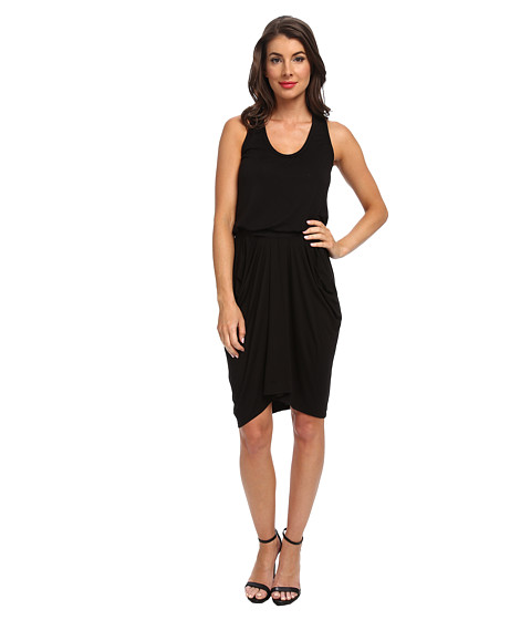 LAmade - Jemma Racer Back Dress (Black) Women