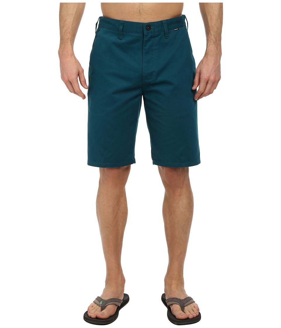 Hurley - One Only Chino Walkshort (Teal) Men's Shorts