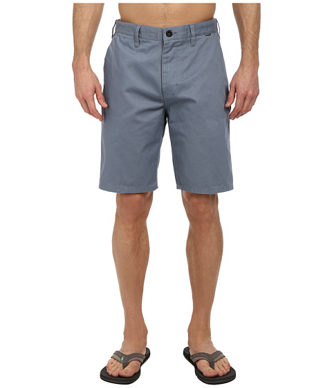 Hurley - One Only Chino Walkshort (Blue Graphite) Men's Shorts
