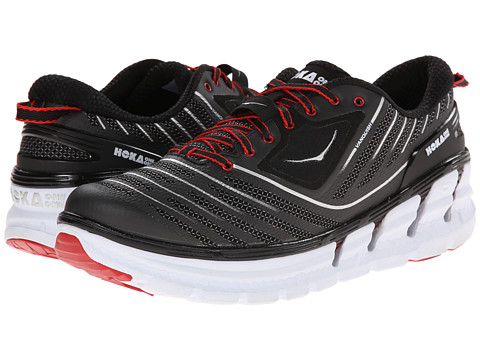 Hoka One One - Vanquish (Black/True Red) Men's Running Shoes