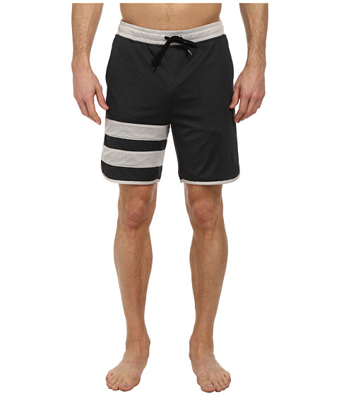 Hurley - Dri-Fit Block Party Volley Short (Black) Men's Swimwear