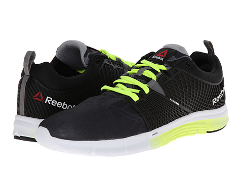 Reebok - ZQuick Dash (City - Black/Foggy Grey/White/Solar Yellow) Men