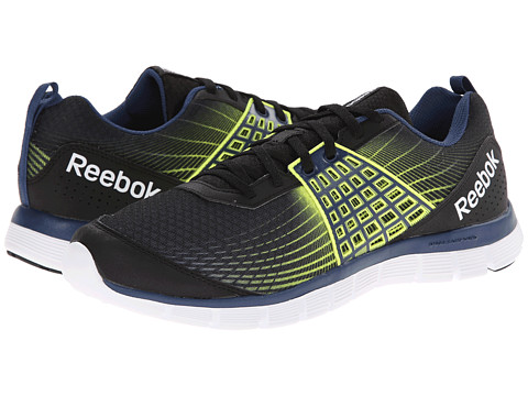 Reebok - Z Dual Rush (Black/Batik Blue/Solar Yellow/White) Men's Cross Training Shoes