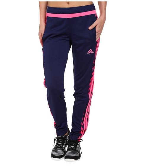 adidas - Tiro 15+ Graphic Pant (Night Sky/Pink) Women