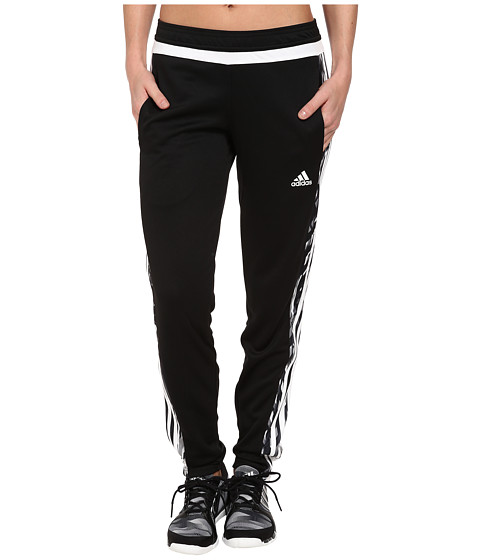 adidas - Tiro 15+ Graphic Pant (Black/White) Women
