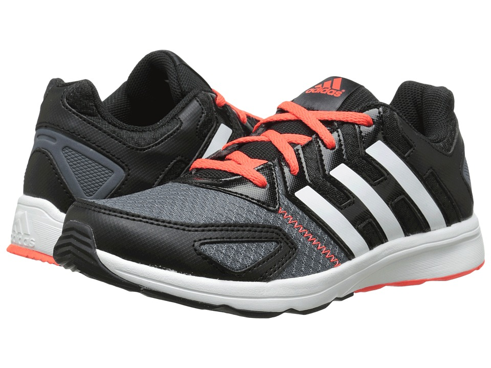 adidas Kids - Az-Faito K (Little Kid/Big Kid) (Black/White/Solar Red) Boys Shoes