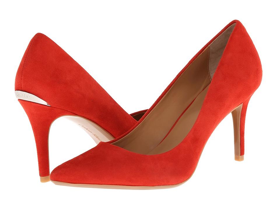 Calvin Klein - Gayle (Cerise Suede) High Heels