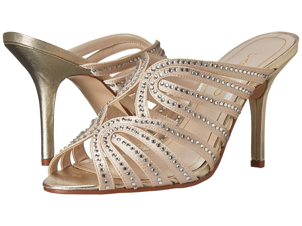 Caparros Rosemary (Platino Metallic) High Heels