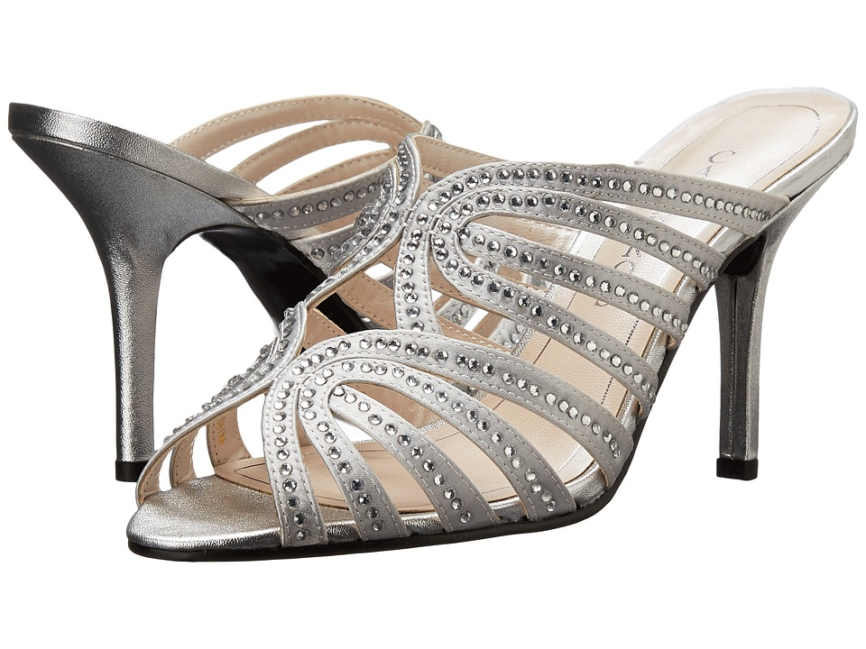 Caparros Rosemary (Silver Metallic) High Heels