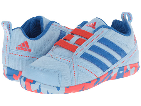 adidas Kids - Natweb I (Toddler) (Clear Sky/Bright Royal/Bright Red) Girls Shoes