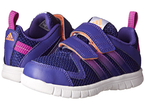 adidas Kids - STA Fluid 3 CF I (Toddler) (Power Purple/Amazon Purple/Flash Pink) Girls Shoes