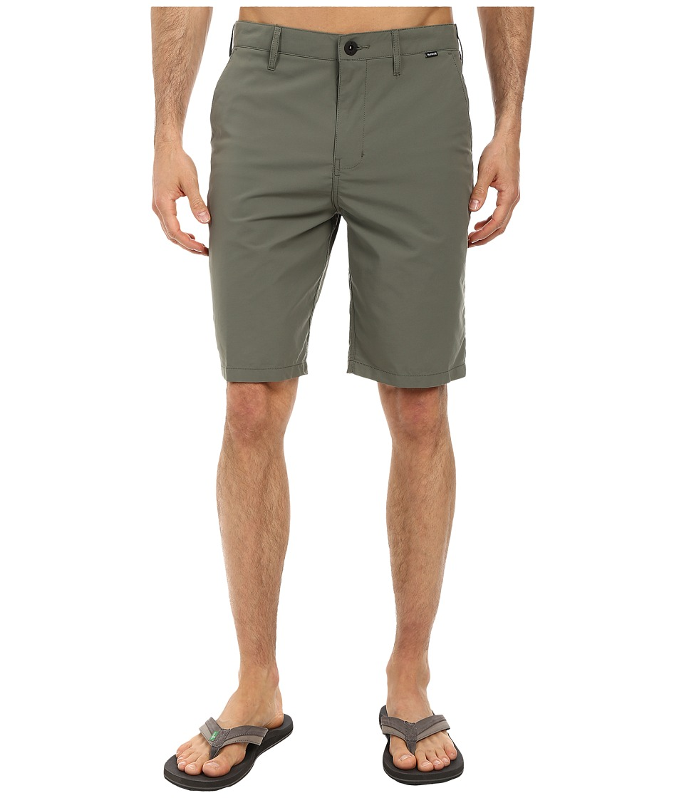 Hurley - Dri-FIT Chino Walkshort (Iron Green) Men's Shorts