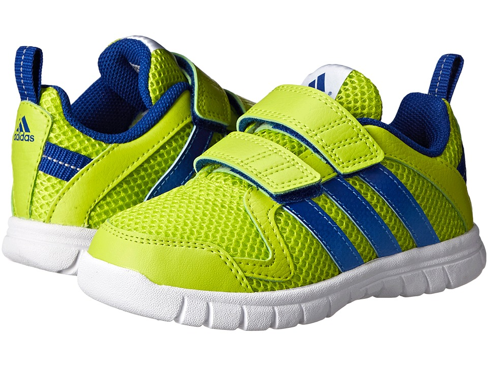 adidas Kids - STA Fluid 3 CF I (Toddler) (Semi Solar Yellow/Collegiate Royal/White) Boys Shoes