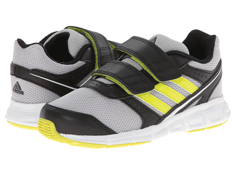 adidas Kids - Hyperfast CF I (Toddler) (Silver Metallic/Semi Solar Yellow/Black) Boys Shoes