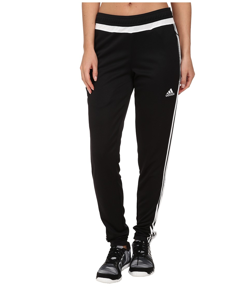 adidas - Tiro 15 Training Pant (Black/White/Black) Women's Casual Pants