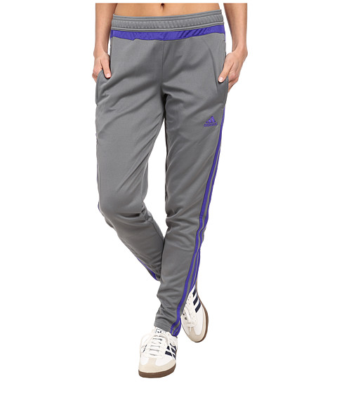 adidas - Tiro 15 Training Pant (Vista Grey/Night Flash/Vista Grey) Women's Casual Pants