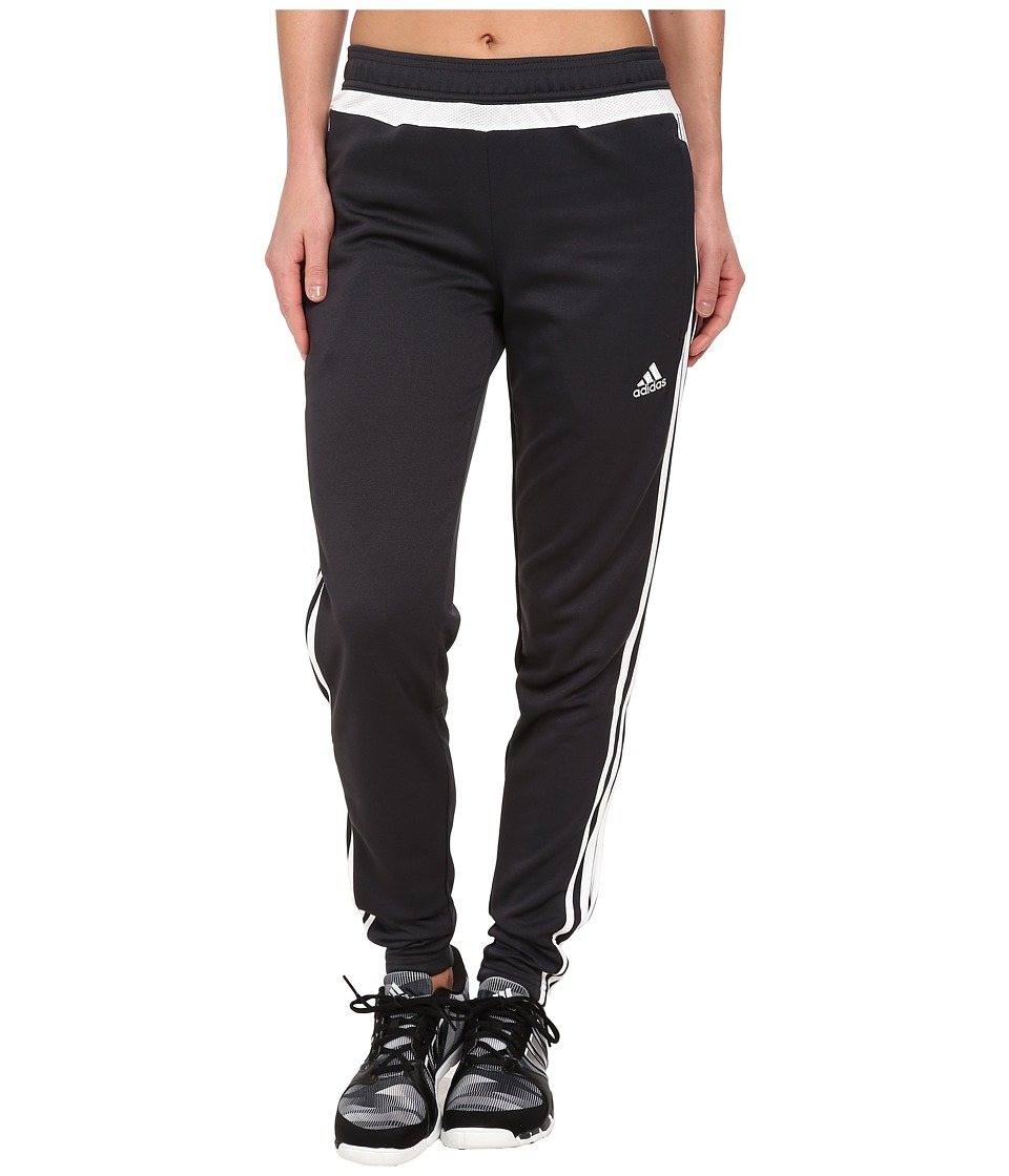 adidas - Tiro 15 Training Pant (Dark Grey/White/Dark Grey) Women's Casual Pants