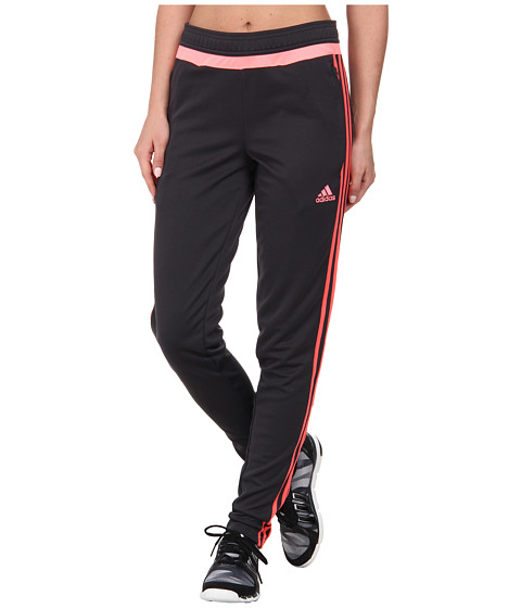 adidas - Tiro 15 Training Pant (Dark Grey/Flash Red/Light Flash Red) Women's Casual Pants