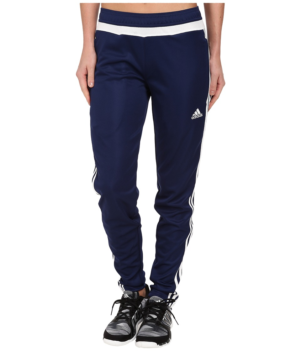 adidas - Tiro 15 Training Pant (Dark Blue/White/Dark Blue) Women's Casual Pants