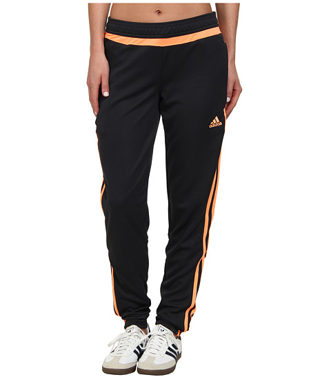 adidas - Tiro 15 Training Pant (Night Grey/Flash Orange/Night Grey) Women's Casual Pants
