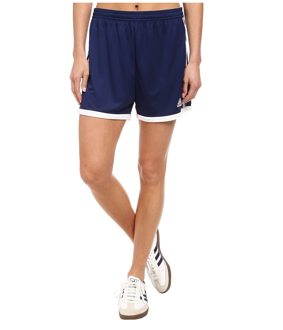 adidas - Tastigo 15 Knit Short (Dark Blue/White) Women's Shorts