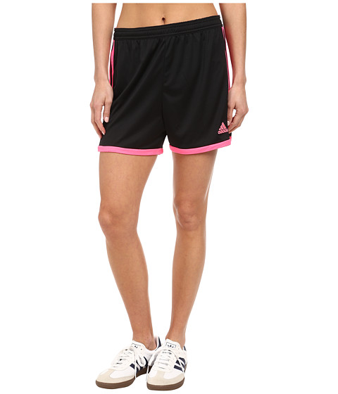 adidas - Tastigo 15 Knit Short (Black/Solar Pink) Women's Shorts