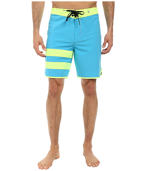 Hurley - Phantom 60 Block Party Boardshort (Blue Lagoon) Men's Swimwear