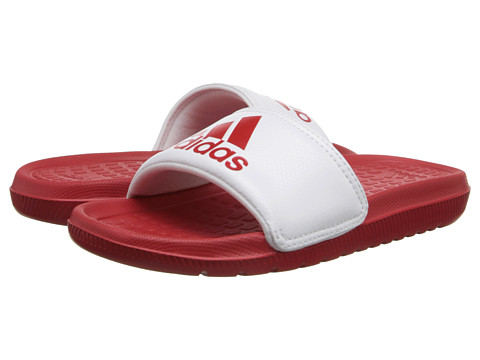 adidas Kids - Voloomix xJ (Little Kid/Big Kid) (Scarlet/White/White) Boys Shoes