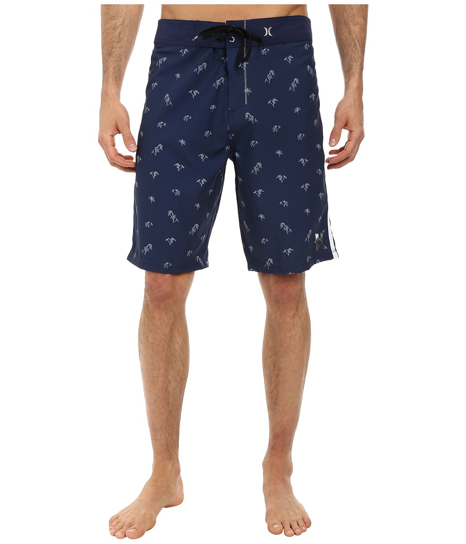 Hurley - Phantom Lo'ikalo Boardshort (Midnight Navy) Men's Swimwear