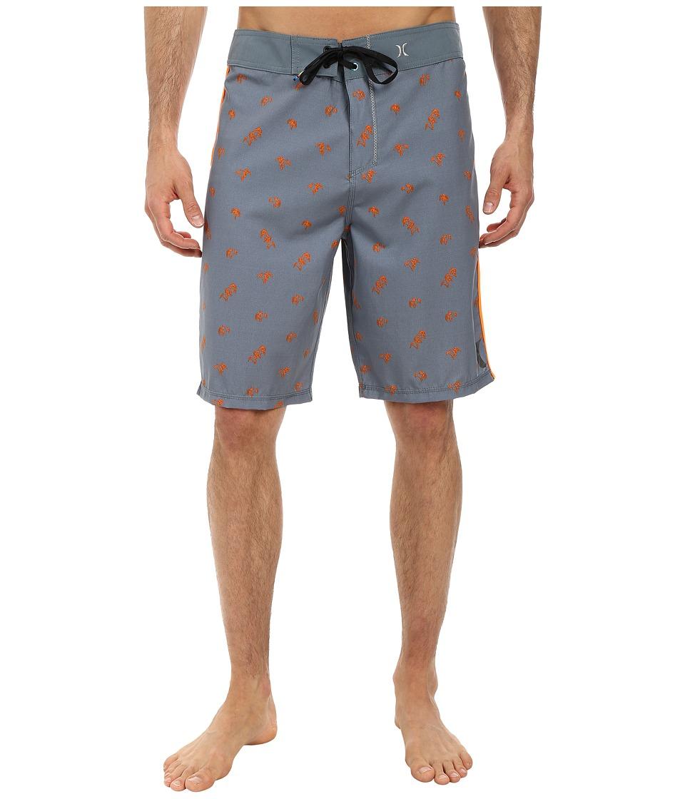 Hurley - Phantom Lo'ikalo Boardshort (Blue Graphite) Men's Swimwear