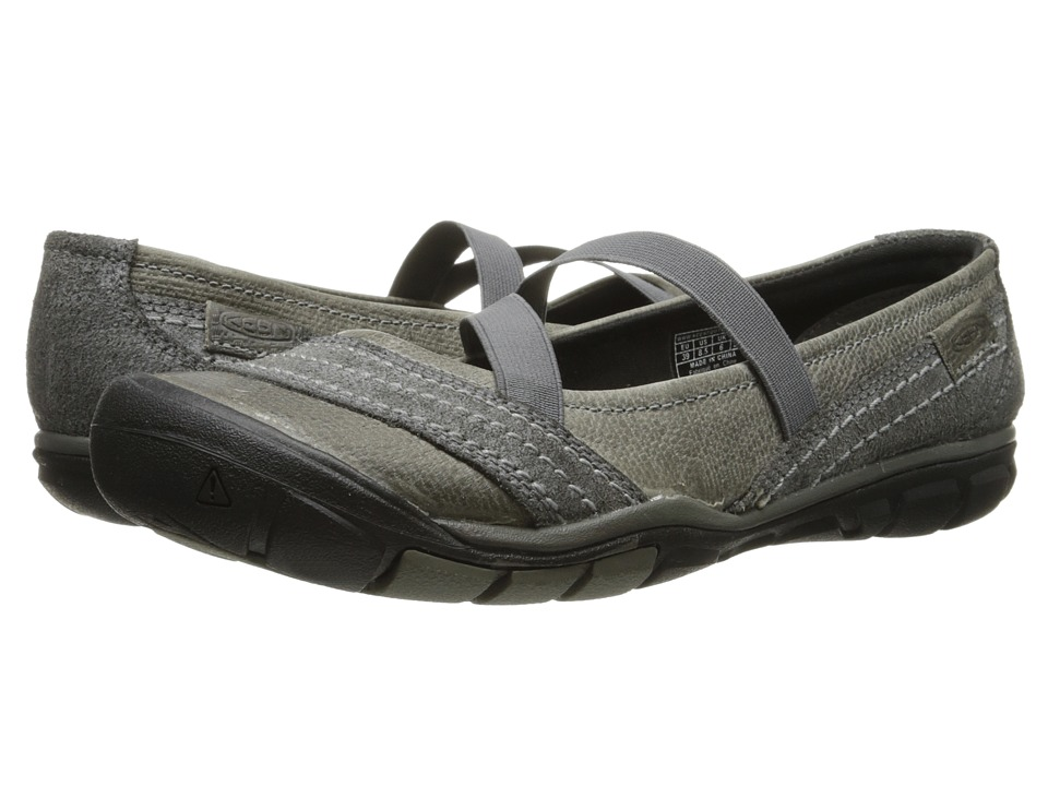 Keen - Rivington CNX Criss-Cross (Neutral Gray) Women's Flat Shoes